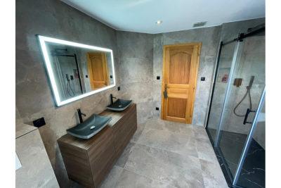 salle de bain & douche design - double vasque