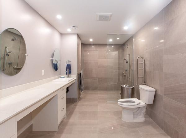 salle de bain PMR